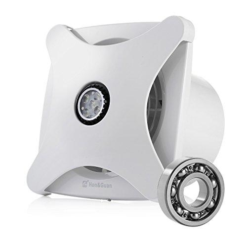 Hon&Guan 150mm Ventilateur Silencieux Extracteur D Air