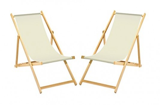 2-x-chaise-longue-en-bois-blanc-sans-accoudoirs-pliable-avec-interchangeables-Housse-en-tissu-0