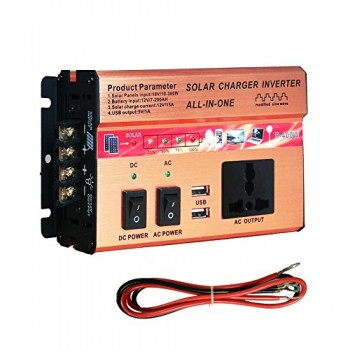 400W750W-Inverter-SolarAC-Charger-Controller-Intergrated-Kit-AC-DC-12V-USB-Solar-Panel-0