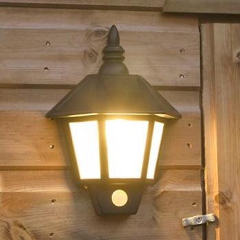 Applique-Solaire-Noire-avec-Dtecteur-de-Mouvements-LED-Ultra-Lumineuses-Panneau-Solaire-Intgr-Pile-Rechargeable-Incluse-Waterproof-0