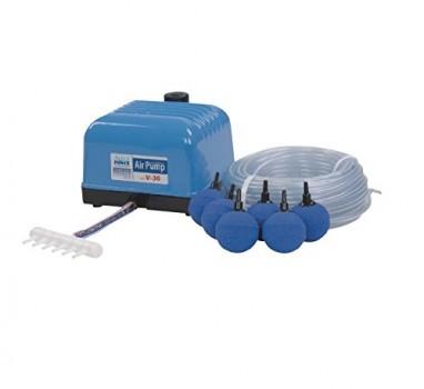 Arateur-AquaForte-Kit-complet-de-pompes--air-pour-bassin-et-aquarium-srie-V-0