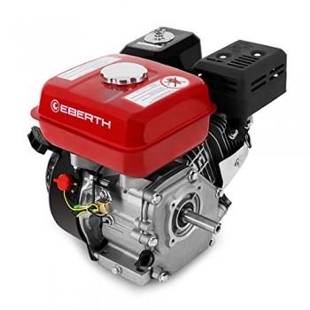 EBERTH-65-CV-Moteur--essence-thermique-1905-mm-Arbre-Alarme-manque-dhuile-4-Temps-1-Cylindre-Refroidissement--air-Dmarrage-via-cble-0