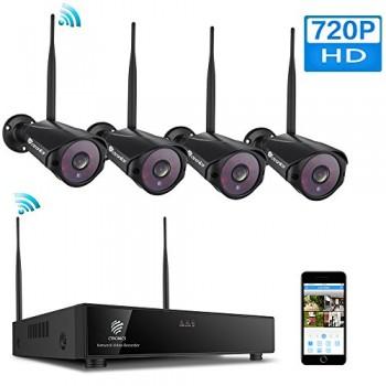 H264-Kit-camras-de-Surveillance-sans-Fil-avec-4-camras-1080P720P-WiFi-intrieur-et-extrieur-0