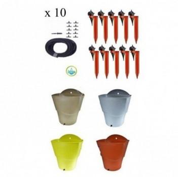IRISO-Kit-10-Goutteurs-avec-Supports-1-Rserve-deau-12L-0