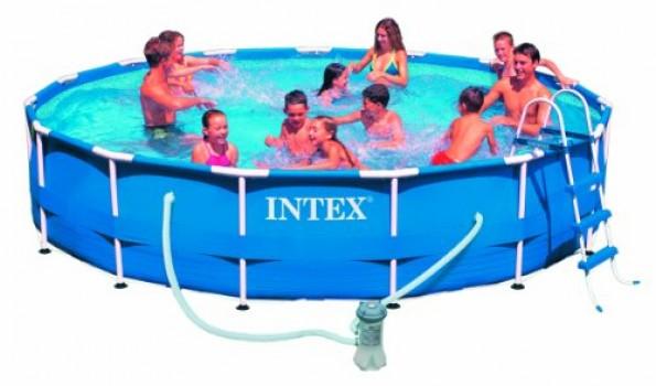 Intex-Piscine-hors-sol-cadre-mtal-avec-purateur-0