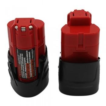 KINSUN-2-Pack-Remplacement-Outil-lectrique-Batterie-12V-15Ah-Li-Ion-pour-Milwaukee-Perceuse-Sans-Fil-Pilote-dimpact-M12-48-11-2401-48-11-2402-C12-B-C12-BX-et-Plus-0
