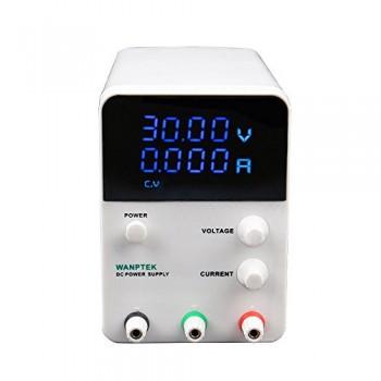 KKmoon-Commutateur-dAlimentation-Commutateur-de-tension-4-chiffres-bleu-LED-CC-de-Laboratoire-0-30V-0-10A-CC-Mini-prcision-rglable-AC-115V-230V-50-60Hz-0