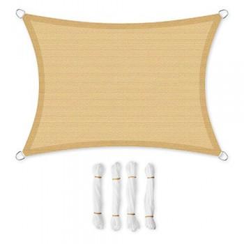 SONGMICS-35-x-5-m-Voile-dombrage-en-HDPE-Protection-solaire-Protection-anti-UV-Permable--lair-Pour-le-jardin-le-balcon-Respirant-Permable--leau-Rectangulaire-Plusieurs-tailles-au-choix-Jaune-sable-Cor-0