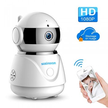 Szsinocam-1080P-HD-Dme-Camra-de-Surveillance-Ip-Camra-Cloud-WiFi-sans-Fil-PTZ-Pan-0
