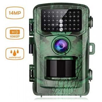 TOGUARD-Camra-de-Chasse-14MP-1080P-avec-42-LEDs-Infrarouge-Vision-Nocturne-22M-Camra-Surveillance-de-la-Faune-Grand-Angle-120-IP56-tanche-Traque-IR-Camra-de-Jeu-pour-Chasseur-0