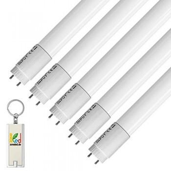 ZoneLED-SET-Tube-LED-T8-G13-Angle-de-faisceau-de-160-Blanc-6400K-120cm-Lot-de-5-0